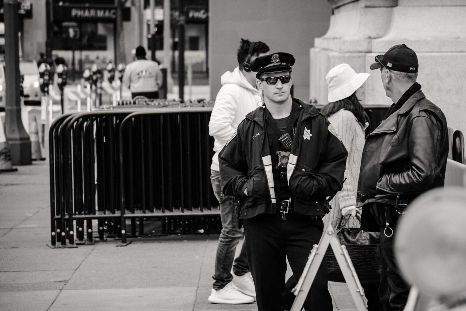 big security guards