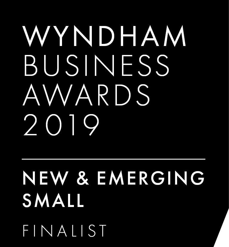 Wyndham Business Awards Finalist Logo - New & Emerging Small