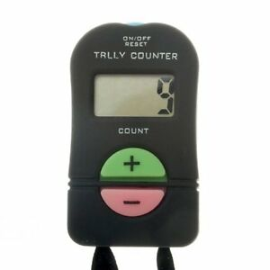 Retail store tally counter