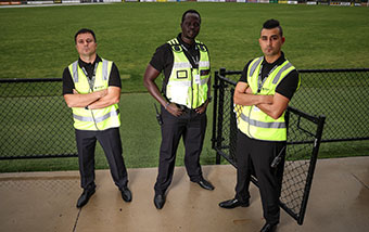 Event security crowd control Melbourne